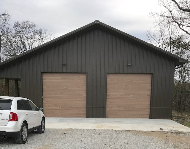 Customized garage in Platte City, MO
